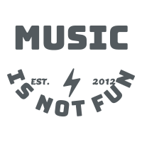 Logo Music-is-not-Fun