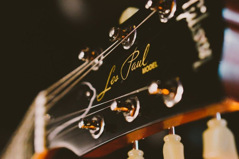 les paul guitare